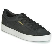 Boty Ženy Nízké tenisky adidas Originals SLEEK W Černá