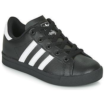 Boty Děti Nízké tenisky adidas Originals COAST STAR C Černá / Bílá