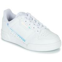 Boty Děti Nízké tenisky adidas Originals CONTINENTAL 80 C Bílá / Modrá
