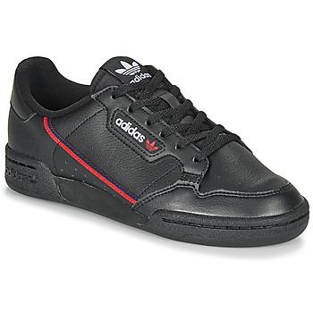 Boty Děti Nízké tenisky adidas Originals CONTINENTAL 80 J Černá