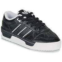 Boty Děti Nízké tenisky adidas Originals RIVALRY LOW J Černá