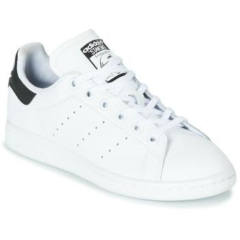 Boty Děti Nízké tenisky adidas Originals STAN SMITH J Bílá / Černá