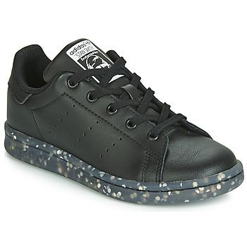 Boty Děti Nízké tenisky adidas Originals STAN SMITH C Černá