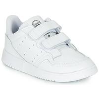 Boty Děti Nízké tenisky adidas Originals SUPERCOURT CF I Bílá
