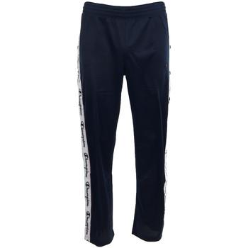 Textil Muži Teplákové kalhoty Champion Straight Hem Pants Men's Modrá