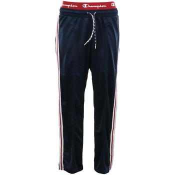 Textil Ženy Teplákové kalhoty Champion Straight Hem Pants Modrá