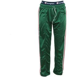 Textil Ženy Teplákové kalhoty Champion Straight Hem Pants Zelená