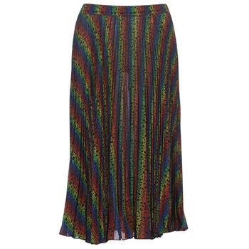 Textil Ženy Sukně MICHAEL Michael Kors MULTI LOGO PLEAT SKRT Vícebarevná