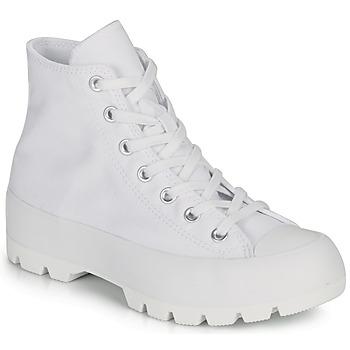 Boty Ženy Kotníkové tenisky Converse CHUCK TAYLOR ALL STAR LUGGED BASIC CANVAS Bílá
