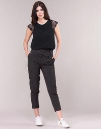 Textil Ženy Kapsáčové kalhoty Betty London LAALIA Černá / Bílá