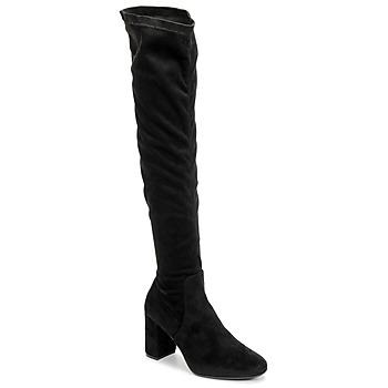 Boty Ženy Vysoké kozačky nad kolena Betty London LAHNA Černá