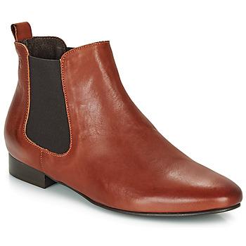 Boty Ženy Kotníkové boty Betty London HYBA Zlatohnědá
