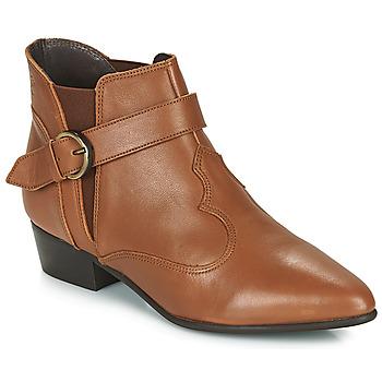 Boty Ženy Kotníkové boty Betty London LYDWINE Zlatohnědá