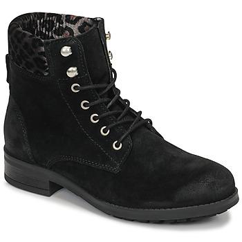 Boty Ženy Kotníkové boty Betty London LIVIANE Černá