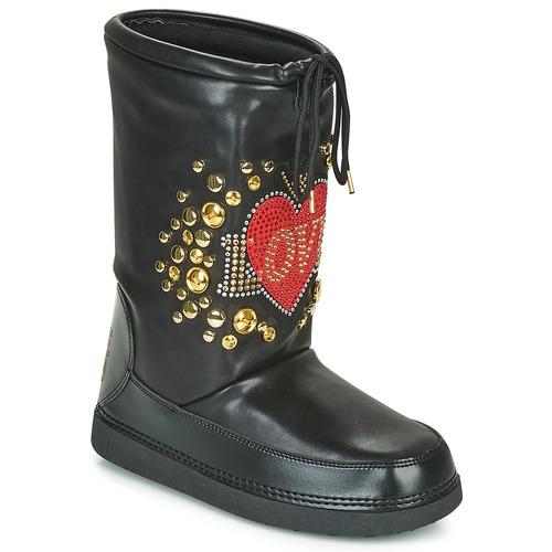 Boty Ženy Zimní boty Love Moschino SKI BOOT Černá