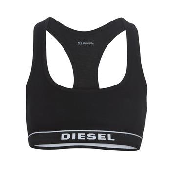 Spodní prádlo  Ženy Sportovní podprsenky Diesel MILEY Černá