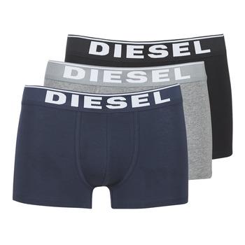 Spodní prádlo  Muži Boxerky Diesel DAMIEN Šedá / Tmavě modrá / Černá
