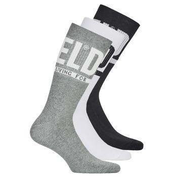 Doplňky  Muži Ponožky Diesel  Černá / Šedá / Bílá