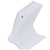 Doplňky  Muži Ponožky Polo Ralph Lauren ASX110 6PK CR PP-CREW-6 PACK Bílá