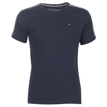 Textil Muži Trička s krátkým rukávem Tommy Hilfiger AUTHENTIC-UM0UM00562 Tmavě modrá