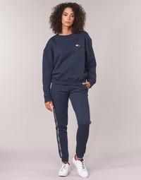 Textil Ženy Teplákové kalhoty Tommy Hilfiger AUTHENTIC-UW0UW00564 Tmavě modrá