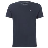 Textil Muži Trička s krátkým rukávem Tommy Hilfiger COTTON ICON SLEEPWEAR-2S87904671 Tmavě modrá