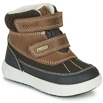 Boty Děti Zimní boty Primigi PEPYS GORE-TEX Hnědá