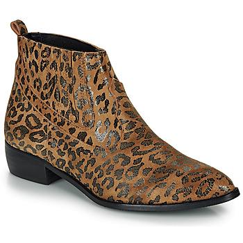 Boty Ženy Kotníkové boty Ippon Vintage GILL ARTY Velbloudí hnědá