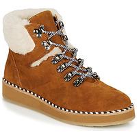 Boty Ženy Kotníkové boty Ippon Vintage RIDE LAND Velbloudí hnědá