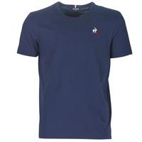 Textil Muži Trička s krátkým rukávem Le Coq Sportif ESS TEE SS N°2 M Modrá / Tmavě modrá