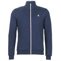 Textil Muži Teplákové bundy Le Coq Sportif ESS FZ SWEAT N°2 M Modrá / Tmavě modrá