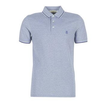 Textil Muži Polo s krátkými rukávy Selected SLHTWIST Tmavě modrá