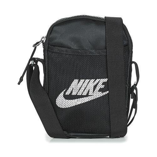 Taška Malé kabelky Nike NK HERITAGE S SMIT Černá