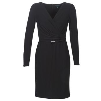 Textil Ženy Krátké šaty Lauren Ralph Lauren ALEXIE Černá