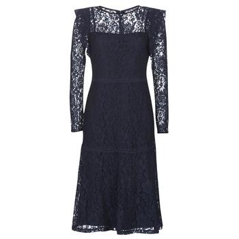 Textil Ženy Krátké šaty Lauren Ralph Lauren BLAIR Tmavě modrá