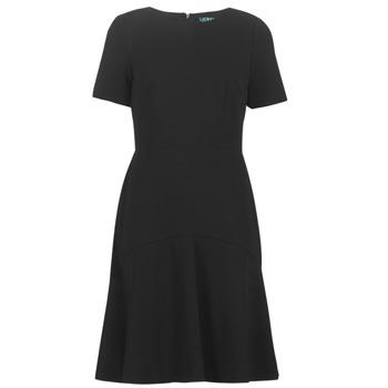 Textil Ženy Krátké šaty Lauren Ralph Lauren BABA Černá