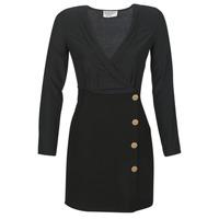 Textil Ženy Krátké šaty Moony Mood LUCE Černá