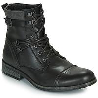Boty Muži Kotníkové boty Casual Attitude RIVIGH Černá