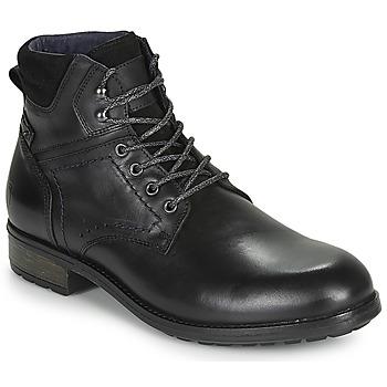 Boty Muži Kotníkové boty Casual Attitude LULLY Černá