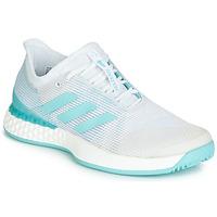 Boty Ženy Běžecké / Krosové boty adidas Performance ADIZERO UBERSONIC 3M X PARLEY Bílá / Modrá