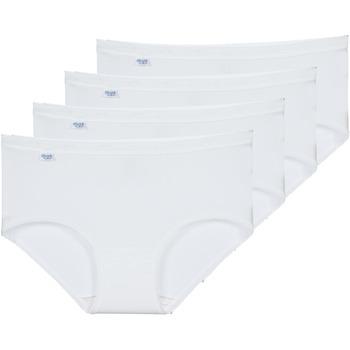 Spodní prádlo  Ženy Kalhotky Sloggi BASIC+ X 4 Bílá