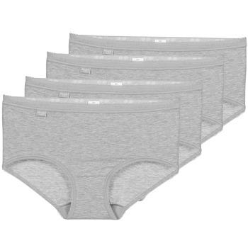 Spodní prádlo  Ženy Kalhotky Sloggi BASIC+ X 4 Šedá