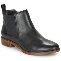Boty Ženy Kotníkové boty Clarks TAYLOR SHINE Černá
