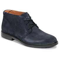 Boty Muži Kotníkové boty Clarks UN TAILOR MID Tmavě modrá