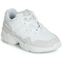 Boty Děti Nízké tenisky adidas Originals YUNG-96 C Bílá
