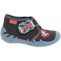 Boty Chlapecké Pantofle Befado Chlapecké bačkory  523P011 modrá Modrá