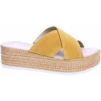 Boty Ženy Dřeváky S.Oliver Dámské pantofle  5-27200-22 sun Žlutá