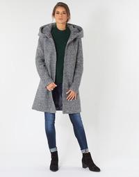 Textil Ženy Kabáty Vila VICANIA Šedá