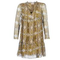 Textil Ženy Krátké šaty Moony Mood LONI Žlutá