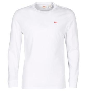 Textil Muži Trička s krátkým rukávem Levi's LS ORIGINAL HM TEE Bílá